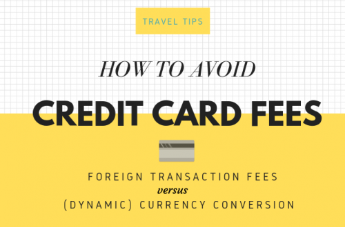 Guide to avoiding Credit Card Fees Abroad