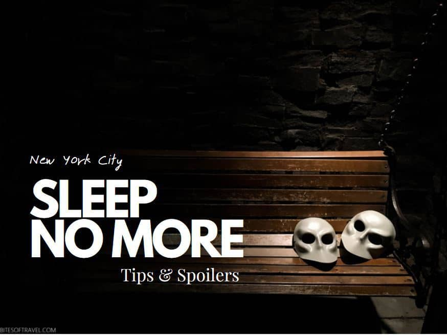 New York Sleep No More Play