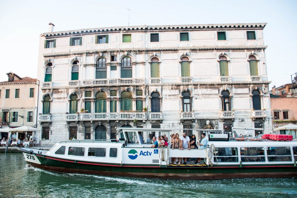 Venice Vaporetto ACTV Water Bus